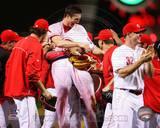 Cincinnati Reds - Homer Bailey Photo Photo