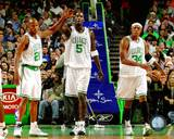 Boston Celtics - Kevin Garnett, Paul Pierce, Ray Allen Photo Photo