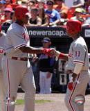 Philadelphia Phillies - Jimmy Rollins, Ryan Howard Photo Photo