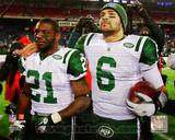 New York Jets - LaDainian Tomlinson, Mark Sanchez Photo Photo
