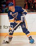 St Louis Blues - Jeff Brown Photo Photo