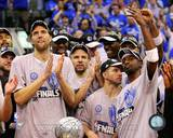 Dallas Mavericks - Jason Kidd, Dirk Nowitzki, Jason Terry Photo Photo