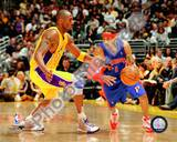Los Angeles Lakers, Detroit Pistons - Kobe Bryant, Allen Iverson Photo Photo