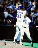 Kansas City Royals - George Brett, Bret Saberhagen Photo Photo