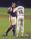 New York Mets - Gary Carter, Dwight Gooden Photo Photo