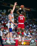 Houston Rockets - Hakeem Olajuwon Photo Photo