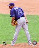 Tampa Bay Rays - Joaquin Benoit Photo Photo
