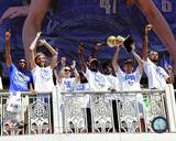 Dallas Mavericks - Jason Kidd, Dirk Nowitzki, Jason Terry, Shawn Marion, Tyson Chandler, Jose Barea Photo