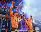 World Wrestling Entertainment - John Cena, The Rock Photo Photo
