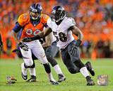 Baltimore Ravens - Elvis Dumervil Photo Photo