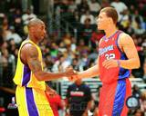 Los Angeles Lakers, Los Angeles Clippers - Kobe Bryant, Blake Griffin Photo Photo