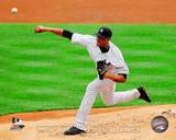 New York Yankees - Hector Noesi Photo Photo