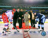 Pittsburgh Penguins, Washington Capitals - Mario Lemieux, Sidney Crosby, Alex Ovechkin Photo Photo