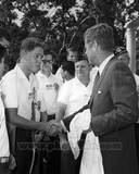 Historical - John F. Kennedy, Bill Clinton Photo Photo