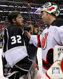 New Jersey Devils, Los Angeles Kings - Martin Brodeur, Jonathan Quick Photo Photo