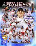 New York Giants - Eli Manning, Justin Tuck, Mario Manningham, Hakeem Nicks, Jason Pierre-Paul, Vict Photo