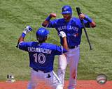 Toronto Blue Jays - Jose Bautista, Edwin Encarnacion Photo Photo