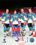 New York Rangers - Mark Messier, Brian Leetch, Mike Richter, Adam Graves Photo Photo