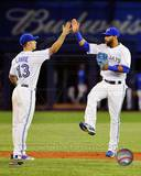 Toronto Blue Jays - Jose Bautista, Brett Lawrie Photo Photo