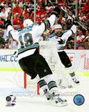 San Jose Sharks - Joe Thorton, Patrick Marleau Photo Photo