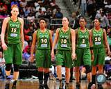 WNBA Seattle Storm - Lauren Jackson, Sue Bird, Swin Cash, Camille Little, Tanisha Wright Photo Photo
