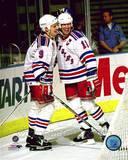 New York Rangers - Mark Messier, Adam Graves Photo Photo