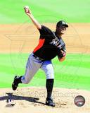 Miami Marlins - Josh Johnson Photo Photo