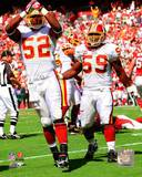 Washington Redskins - London Fletcher, Rocky McIntosh Photo Photo