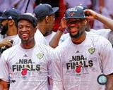 Miami Heat - LeBron James, Dwyane Wade Photo Photo