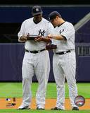 New York Yankees - Joba Chamberlain, CC Sabathia Photo Photo