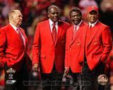 St Louis Cardinals - Lou Brock, Ozzie Smith, Red Schoendienst, Bob Gibson Photo Photo