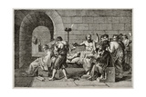 Socrates Death Old Illustration Plakater af marzolino