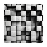 Abstract Background From Concrete Cubes Art by  FreshPaint