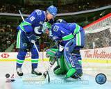 Vancouver Canucks - Markus Naslund, Roberto Luongo Photo Photo