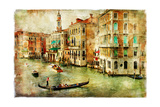 Amazing Venice - Artwork In Painting Style Posters by  Maugli-l