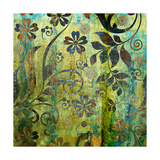 Art Vintage Floral Background Pattern Poster by Irina QQQ