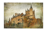Medieval Castle Alcazar, Segovia,Spain- Picture In Paintig Style Prints by  Maugli-l