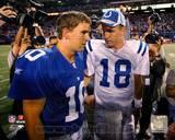 Peyton Manning, Eli Manning Photo Photo