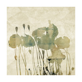 Art Floral Grunge Graphic Background Prints by Irina QQQ