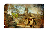 Mysterious Ancient Cambodian Temple Art by  Maugli-l