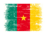 Cameroon Grunge Flag. A Grunge Flag Of Cameroon Prints by  TINTIN75