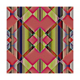 Native American Traditional Decorative Tribal Pattern Design Background Posters by  kgtoh