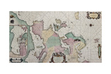 Old Map Of Europe With Eastern Mediterranean Insert Map Posters by  marzolino