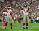 New York Giants - Justin Tuck, Kawika Mitchell Photo Photo