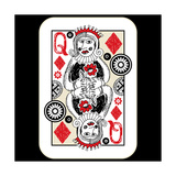 Hand Drawn Deck Of Cards, Doodle Queen Of Diamonds Posters by Andriy Zholudyev