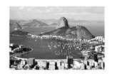 Sugarloaf Mountain In Rio De Janeiro Prints by  CelsoDiniz