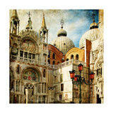 Amazing Venice - Painting Style Series - San Marco Square Art by  Maugli-l