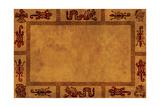 Background With American Indian National Patterns Kunstdrucke von  frenta