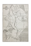 Old Map Of Nile Sources Region Posters af marzolino
