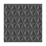 Unusual Vintage Abstract Geometric Pattern Art by  cienpies